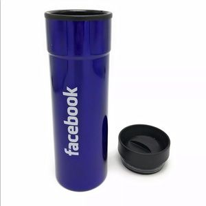 Facebook Logo Stainless Steel Travel Tumbler Cup